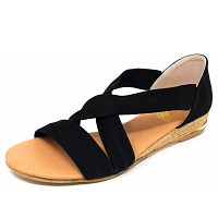 COSMOS COMFORT - Sandalette - schwarz