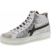 W6YZ - Sneaker - glitter spazz bianco-arge
