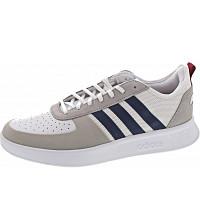 ADIDAS - Court80s - Sneaker - ftwwht-dkblue-actmar