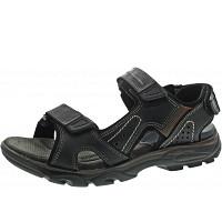 OUTPUT - Sandale - nero-grigio