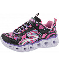 SKECHERS - S Lights Heart Lights - Sneaker - bkmt