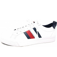 TOMMY HILFIGER - Flag Retail - Sneaker - white