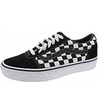 VANS - MN Ward - Sneaker - checkered black-true whit