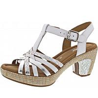 Gabor Comfort - Sandalette - weiss/silb.(ba.