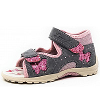 LURCHI - Marzia - Sandalette - grau/rosa