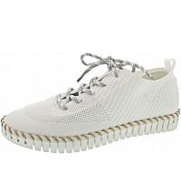LA STRADA - Halbschuh - knitted white