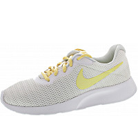 Nike - Wmns Tanjun - Sneaker - white-bicycle yellow