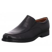CLARKS - elegante Slipper - schwarz