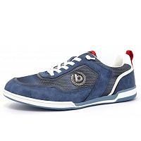 Bugatti - He.-Schuh - Schnürhalbschuh - blau
