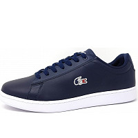 Lacoste - Carnaby Evo - Sneaker - 7A4 navy/white/red