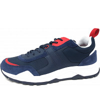 TOMMY HILFIGER - Fashion Mix - Sneaker - RWB rot weiss black