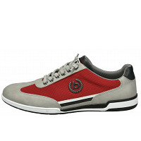 Bugatti - SOLAR EXKO - Orthopädische Schuhe - grey / red