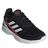 ADIDAS - Nebzed - Sneaker - black/wht/red