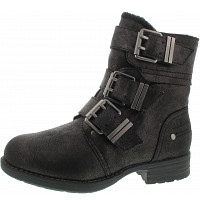 S.OLIVER - Stiefelette - pewter metall