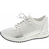 LA STRADA - Sneaker - cracked silver