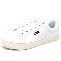 TOMMY HILFIGER - Coll Tommy - Sneaker - white