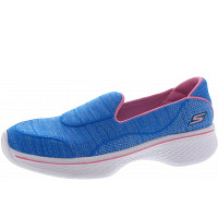 Skechers - Go Walk 4 Speedy Sports - Slipper - blue-pink