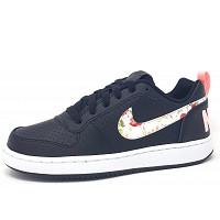 Nike - Court Borough - sportlicher Schnürer - 001 black