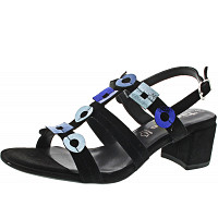 TAMARIS - Sandalette - BLACK COMB