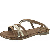 QUEENS - Sandale - gold