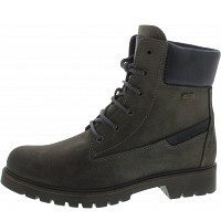 Camel Active - Outback GTX - Schnürstiefel - dark grey / denim