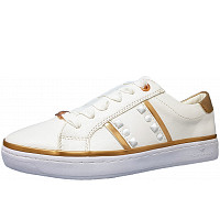 TOM TAILOR - Sneaker - white gold
