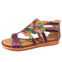 LAURA VITA - Sandalette - violett