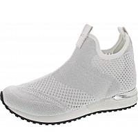 La Strada - Slipper - knitted white-silver