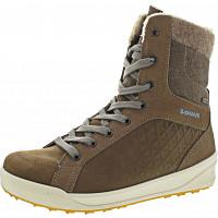 LOWA - Fiss GTX Mid Ws - Boots - taupe-blaugrau