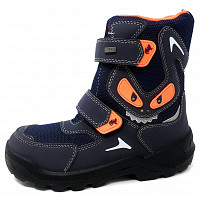 Lurchi - Kilian Blinker - Stiefel - navy orange WF