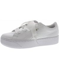 Puma - Vikky Platform Ribbon - Sneaker - white