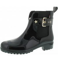 TOMMY HILFIGER - Oxley - Gummistiefel - black