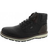 Rieker - Boots - schwarz/kastanie/gra