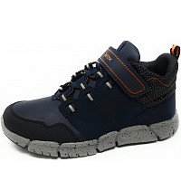 GEOX - Ankle Boots Abx - Sneaker - navy/ orange