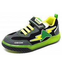 GEOX - Inek Blinki - Sneaker - black lime
