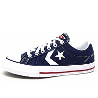 CONVERSE - Star Player OX - Leinenschuh - navy white