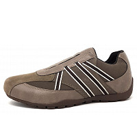 GEOX - Slipper - C0203 dove grey/dk. brown