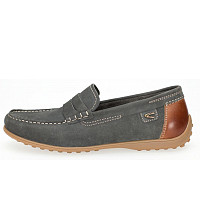 Camel Active - Yacht - Slipper - indigo/nut