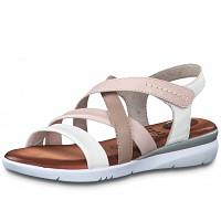 JANA - Weite H - Sandale - white combi
