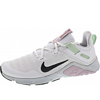 NIKE - Legend Essential - Sneaker - white-black-pistachio