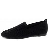 LA STRADA - la strada Loafer - Slipper - 4501 - black knitted