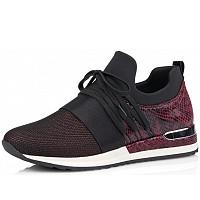 REMONTE - Sneaker - rot schwarz