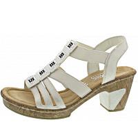 RIEKER - Sandalette - bianco