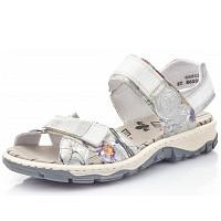 RIEKER - Sandale - white metalic