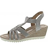 REMONTE - Sandalette - silber-platin