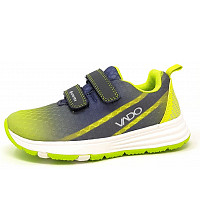 VADO - Klettschuh - 531 lime/grey