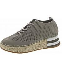 LA STRADA - Halbschuh - knitted grey
