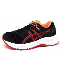 ASICS - Contend 5 PS - Sportschuh - black red