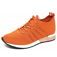 LA STRADA - la Strada Laced Up - Sneaker - 4534 - knitted orange