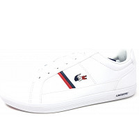 LACOSTE - Europa - Sneaker - white navy red